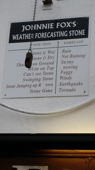 Johnnie Fox'ta hava durumu